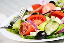 Greek Salad at the Riverview